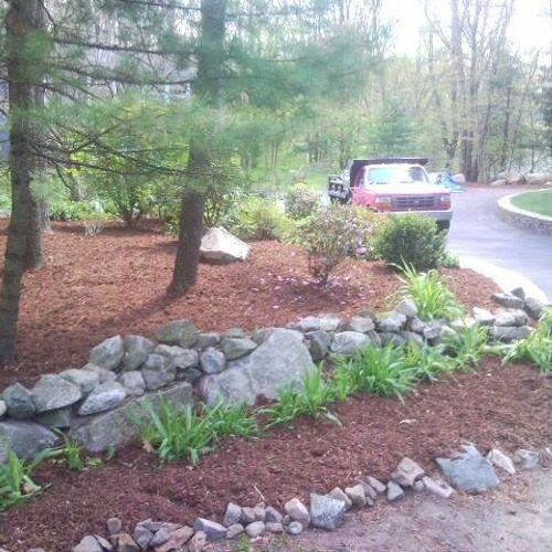 Field Stone wall maintenance