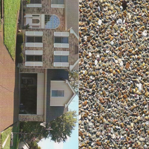 Exposed aggregate (old monroe)