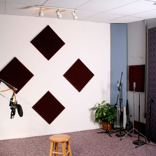 Live Room  Textbook dimensions for proper frequency response