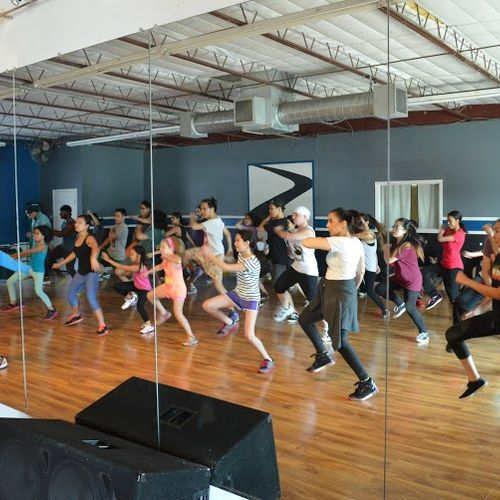 Pictures of one of my beginner hiphop classes (all ages) on Saturdays!