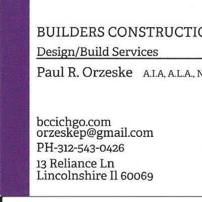 Avatar for Builders Construction Company, Inc. Lincolnshire, IL Thumbtack