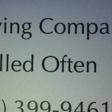 A Moving Company Called Often