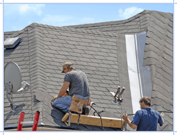 """In our opinion, a job is not done unless it's done right. We grew very tired of the inherently sloppy """"contracted"""" jobs that we repeatedly saw, and we made a vow to only hire roofers who value quality workmanship as much as we do."""