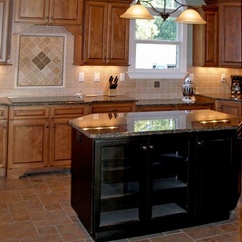 Kitchen design and remodeling by Allen David Cabinetry (980) 722-9186 www.allen-david.com