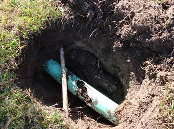 If your sprinkler system has low pressure, you could have a broken pipe. Call Hunter Sprinkler Repair for all of your sprinkler repair needs.
