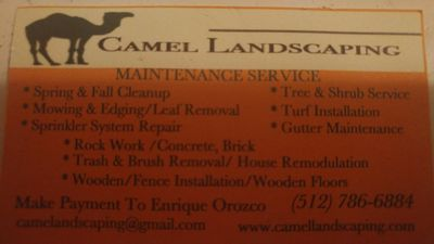 Avatar for Camel Landscaping Austin, TX Thumbtack
