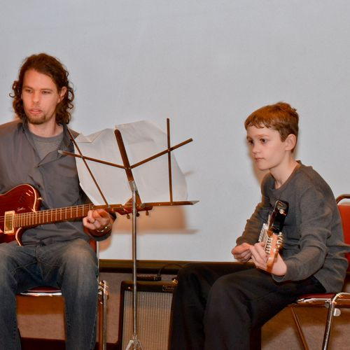 Photo from a recent student recital.