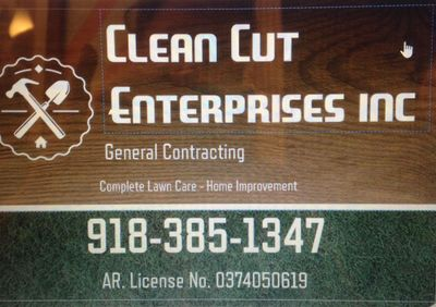 Avatar for Clean Cut Enterprises inc. Fort Smith, AR Thumbtack