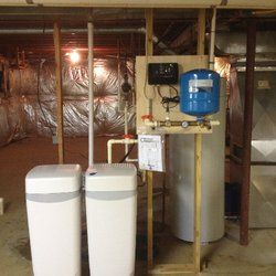 Watermax installation with new constant pressure pump package.