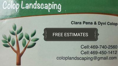 Avatar for Colop Landscaping Grand Prairie, TX Thumbtack
