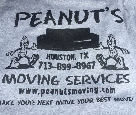 Peanuts Moving Services Houston,TX