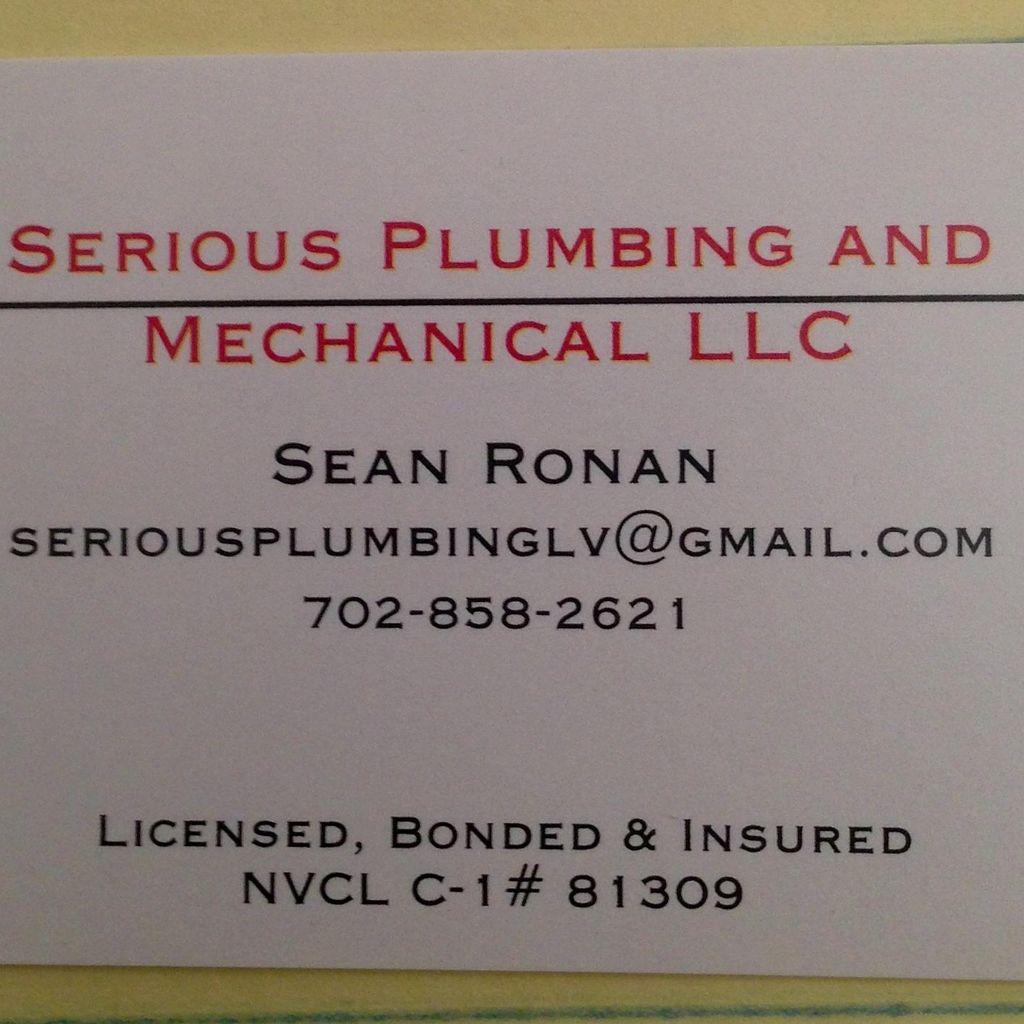 Serious Plumbing and Mechanical LLC