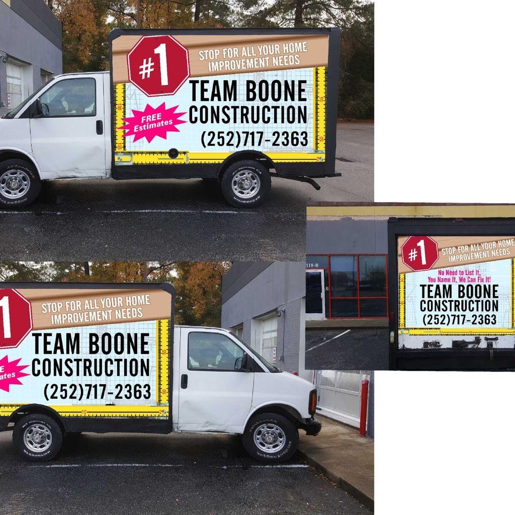 Team Boone Construction