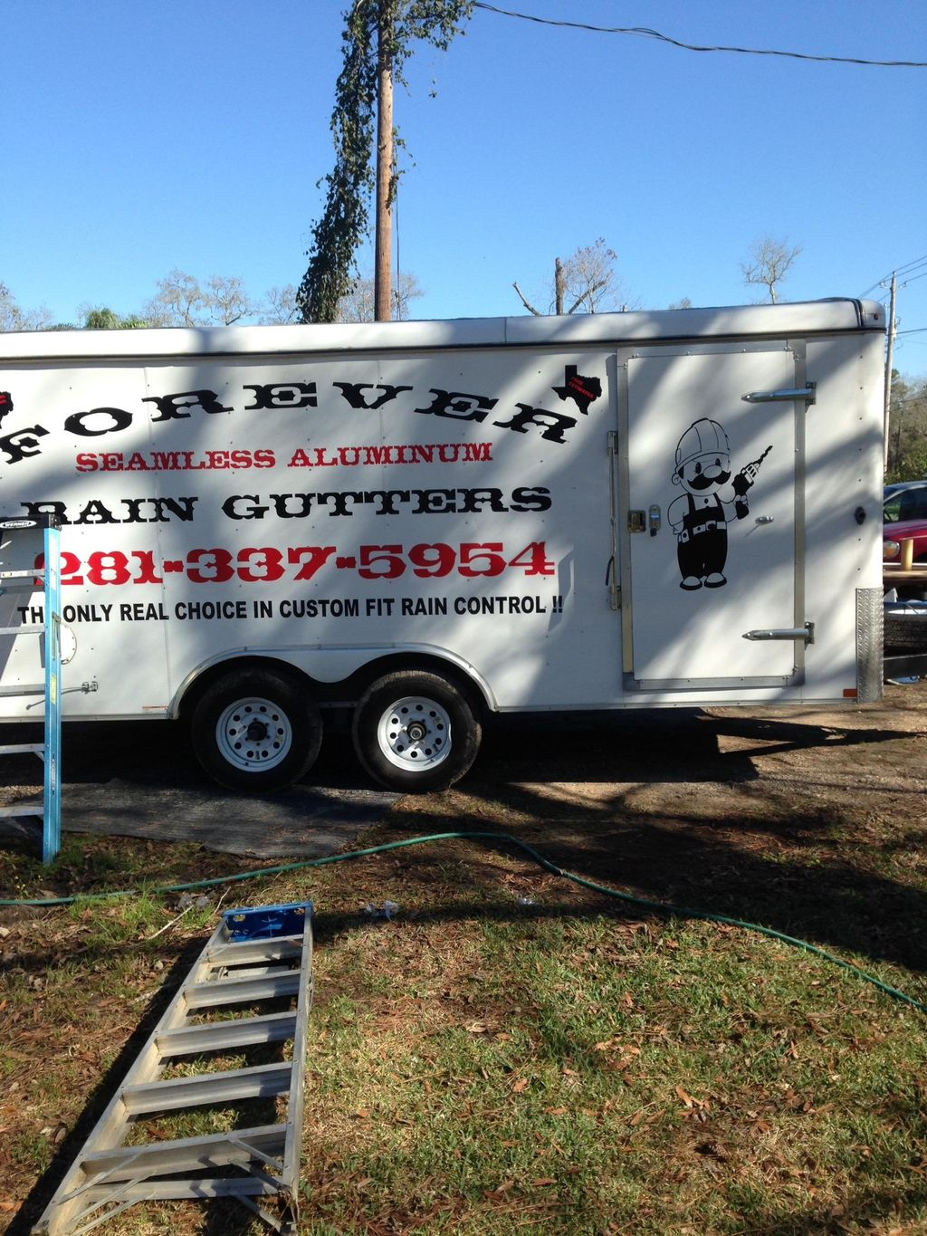 FOREVER RAIN GUTTERS The only real choice in cu...