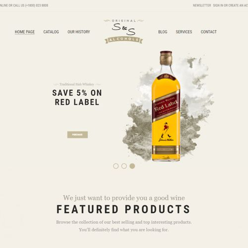 S&S - Alcoholic Beverages Company