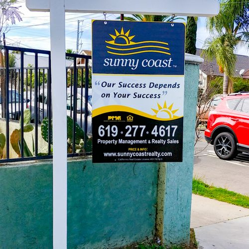 """Sunny Coast Property Management, """"Our Success Depends on Your Success"""""""