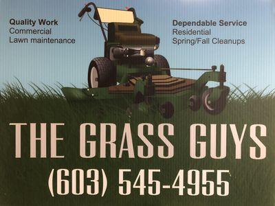 Avatar for The Grass Guys    landscaping Concord, NH Thumbtack