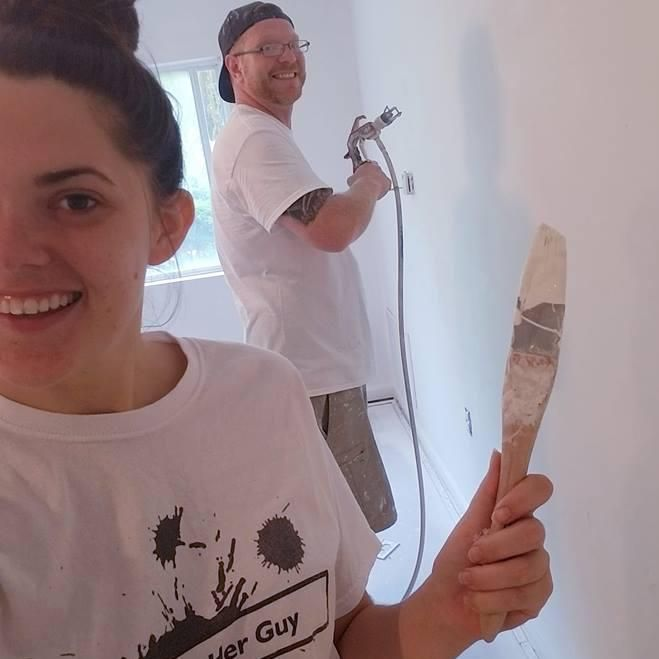 A Girl & Her Guy Painting and Home Repair