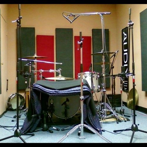 Tracking Room @ DrumWorks Lesson Studio