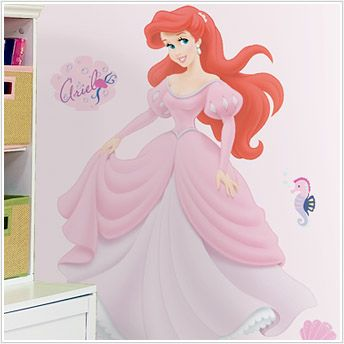 Disney's Ariel Giant Peel and Stick Wall Decal