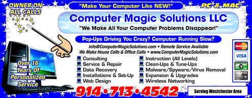 Computer Magic Solutions, LLC - Ad