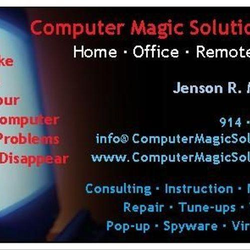 Computer Magic Solutions, LLC - Business Card