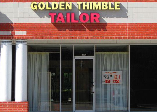 Golden Thimble Tailors