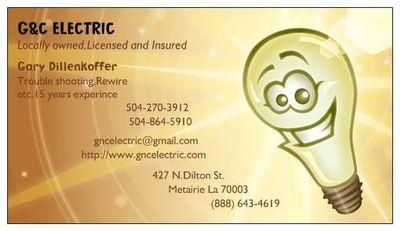 G-N-C Electric, LLC Metairie, LA Thumbtack