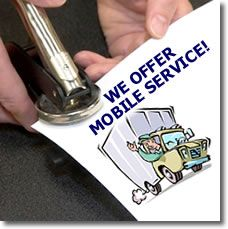 Mobile Notary Services Offered