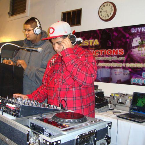 New Generation of Fiesta DJ's