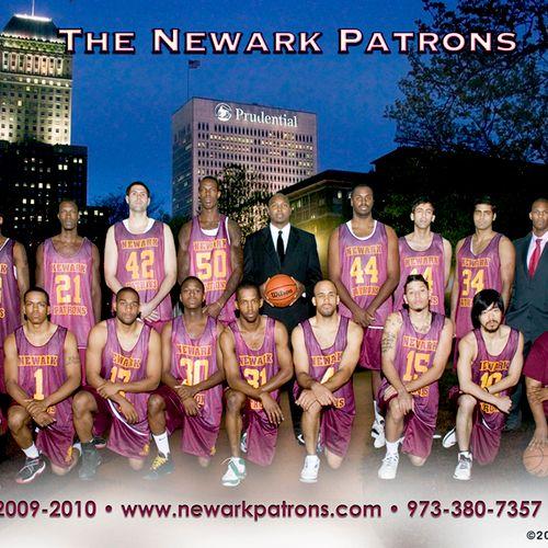 A semi pro basketball team based in Newark.