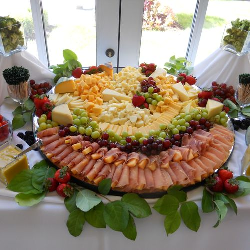 Food Feng Shui from a recent catering.  Color & design in perfect balance.