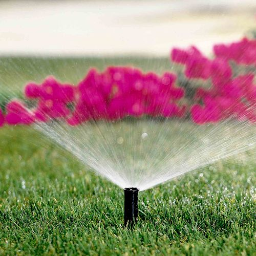 Hunter Sprinkler Repair checks and sets the controller, adjusts and aligns heads, checks rain sensor for proper settings and operation and insures backflow is wrapped properly.