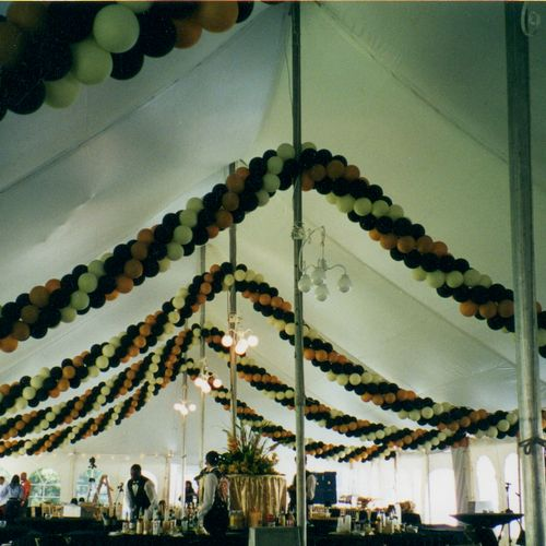we decorate tents also