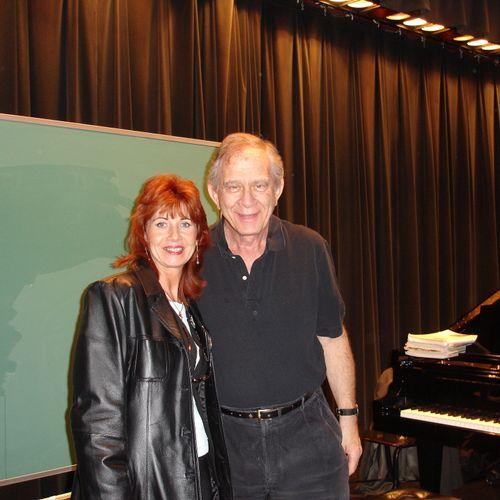 Carina Tiotuico with Comp.Lee Evans in a Piano Jazz Concert! Lexington KY 2008.