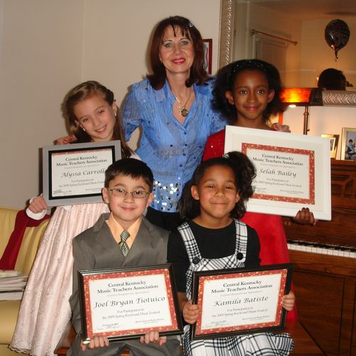 My students winning competitions and student workshops in Cambellsville KY.