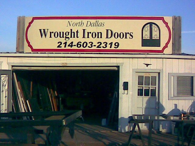 North Dallas Wrought Iron Doors