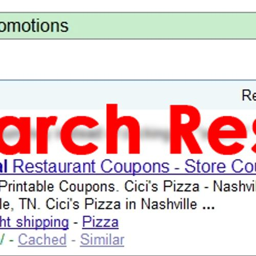 #1 Local Promotions site on #1 Search Engine
