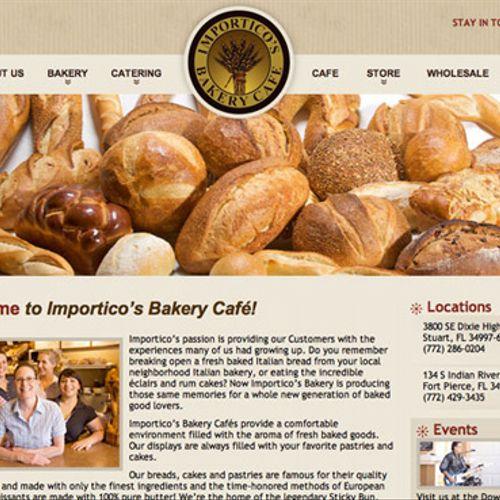 Designed Website: ImporticosBakeryCafe.com