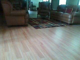Pride-N-Mine Laminate flooring installation in Lawrenceville