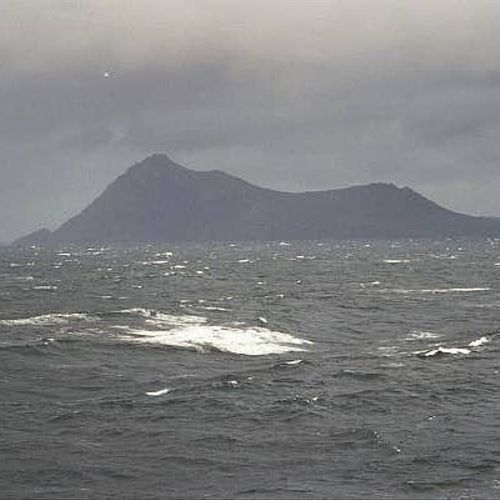 "Cape Horn, January, 2001 cruise on ""Royal Princess."""