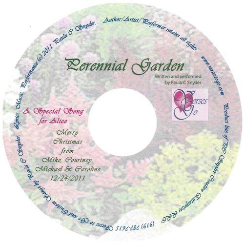 Perennial Garden Healing Poetry/Song Gift Presentation
