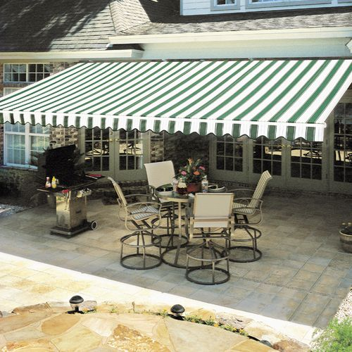 "This customer loves her new Awnings ... ""Fantastic service and the product works perfect!"""