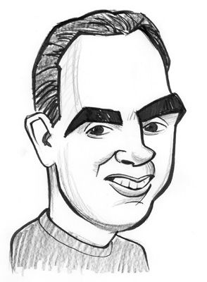 Mike Tofanelli Caricature