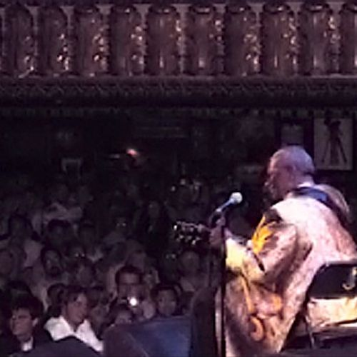 Recording B.B. King live at the House Of Blues