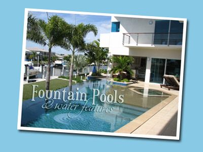 Fountain Pools & Wate Features