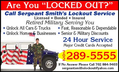 Avatar for Sergeant Smith's Lockout and Roadside Services Las Vegas, NV Thumbtack