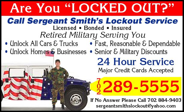Sergeant Smith's Lockout and Roadside Services