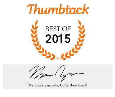 Rated #1 Moving Company by Thumbtack!