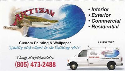 Avatar for Artisan Custom Painting and Wallpapering Pismo Beach, CA Thumbtack